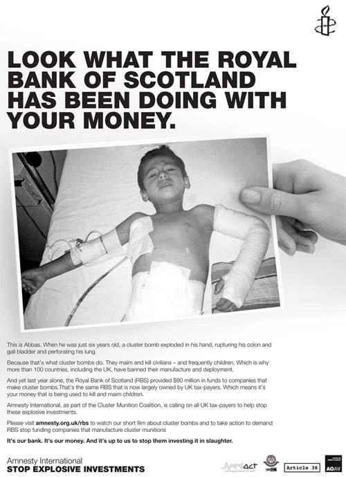 New Amnesty International ad
