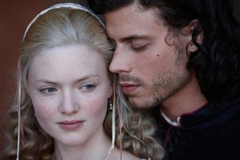 The Borgia's Francois Arnaud and Holliday Grainger