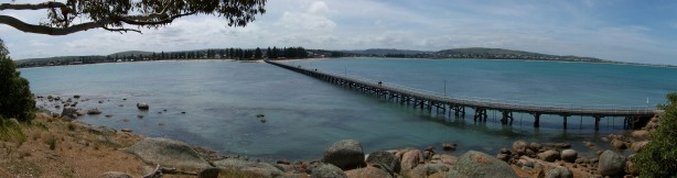 The Granite Island causeway