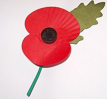 The Royal British Legion still sell paper poppies every year