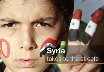 Syria takes to the streets
