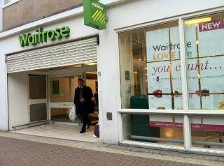 Um ... oh dear, Waitrose