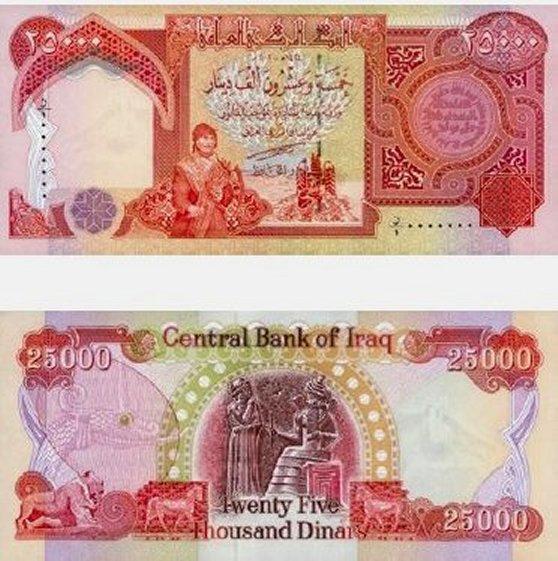 25,000 Dinar