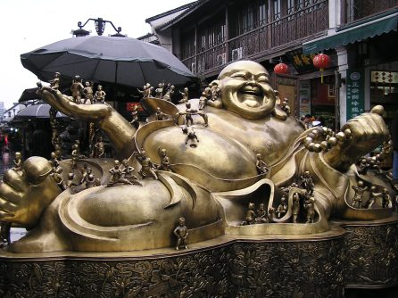 The laughing or fat buddha