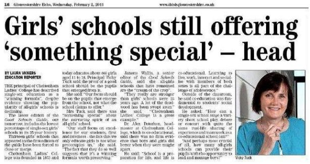 Oh, those crazy whacky British private schools ...