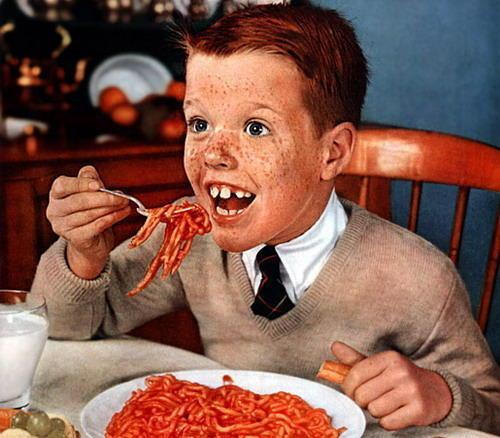 redhead child