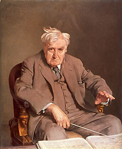Ralph Vaughan Williams painting by Gerald Kelly