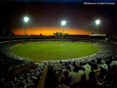 day night cricket