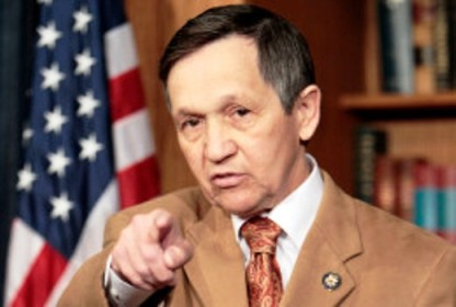 Palin's very unlikely replacement, Dennis Kucinich