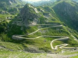 I wouldn't walk down it, let alone drive, let alone cycle down it at 80+ mph. No thank you. Nu-uh.
