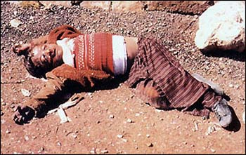 Dead child in Iraq