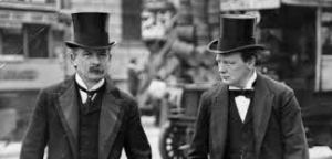 Lloyd George and Churchill, then allies in the Liberal Party, shared a reforming zeal.