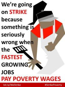 Concern about low pay led to an unprecedented call for fast food workers in the USA to strike on August 29