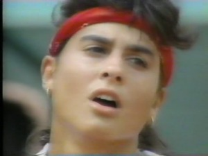 James never had to explain his crush on Gabriella Sabatini. It was shared by every other heterosexual male in the world.