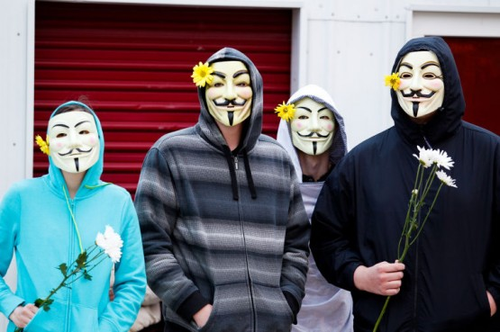 The role of Anonymous in bringing this case to light is entirely noble and to be applauded.