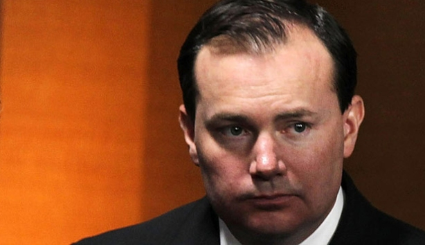Mike Lee of utah - one of a number of tea Party representatives facing an uncertain future