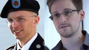Bradley Manning and Edward Snowden - one jailed for 35 years, one forced to flee to a foreign country or risk a similar fate. Heroes or villains?