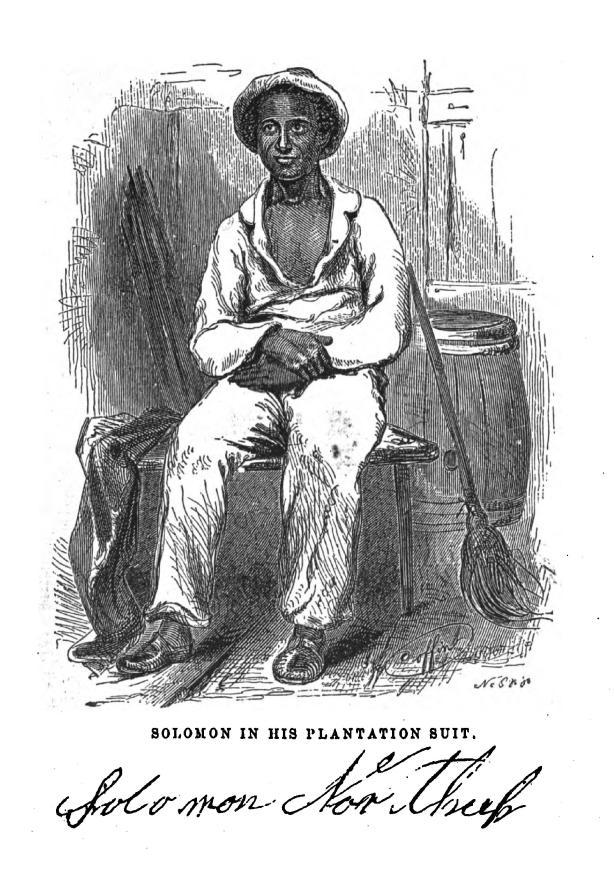 A contemporary portrait of Solomon Northup