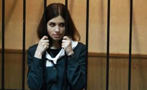 The courage of Tolokonnikova and other protestors in Russia leaves us breathless with admiration.
