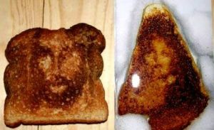 Apophenia - the same impulse that leads us to see significance in certain dates is why we see Christ or the Virgin Mary in toast.