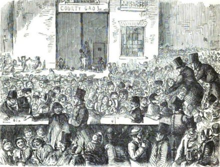 Huge crowds would gather for executions: a fact which caused considerable anguished hand-wringing in the educated classes