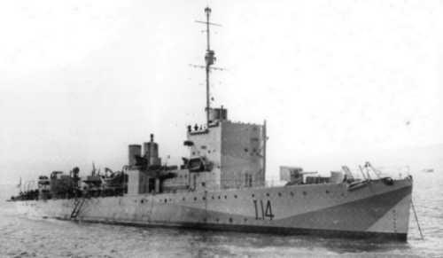 I 14 - HMS Clare