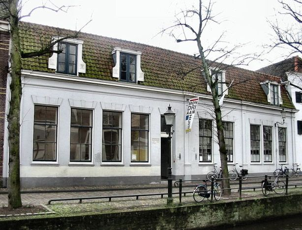 Piet Mondriaan's birthplace in Amersfoort.