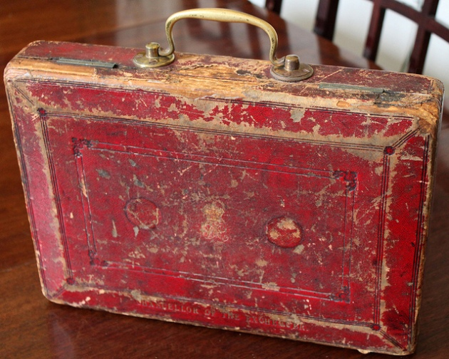 Gladstone's Budget Box