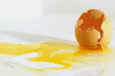 egg crushed