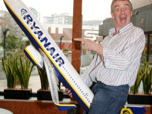 Ryanair: today, it's all about the, er, cock up.
