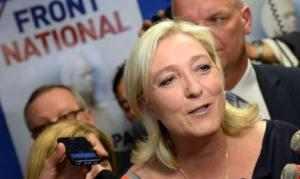 "Marine le Pen of the National Front in France: ""The sovereign people have spoken loudly to say they want to be master of their own destiny""."