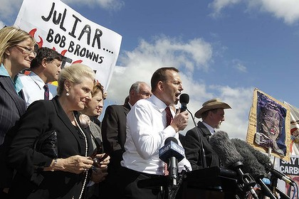If you give it, you have to take it. Abbott ruthlessly and effectively crucified Gillard. Is it his turn now?