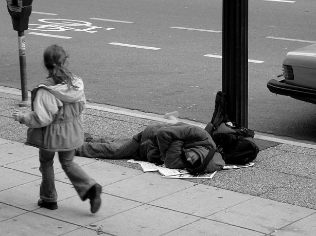 homeless-bw