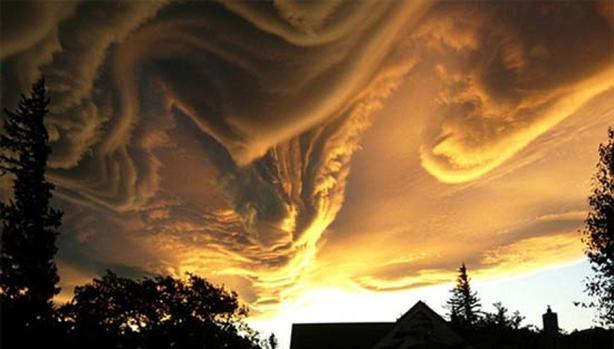 rough clouds