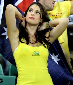 Australia have been, er, holding their end up. So to speak.