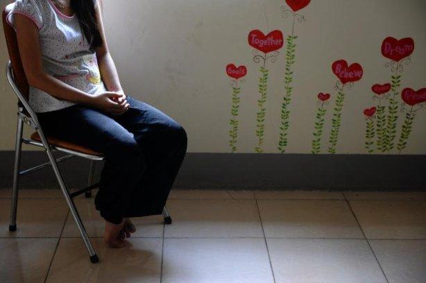 women sitting