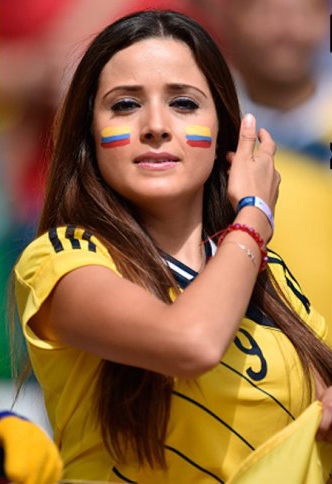 Colombia are doing expectedly well at this World Cup and garnering a lot of interest. Can't imagine why.