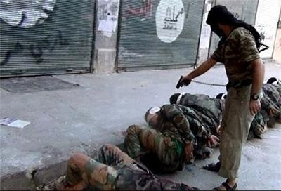 ISIS executes prisoners in Syria