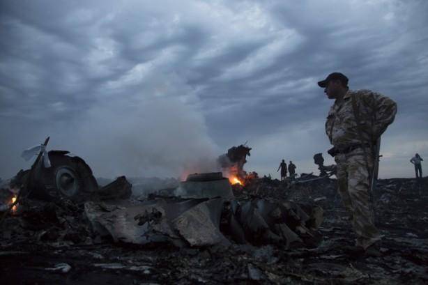 Ukrainian crash site