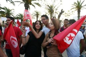 Young Tunisians, in particular, engaged enthusiastically with the new political process.