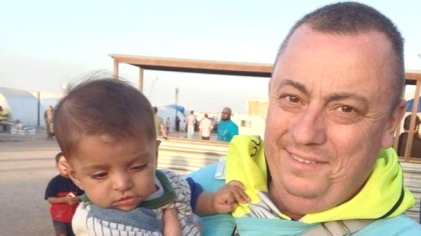 British aid worker Alan Henning who is threatened with death