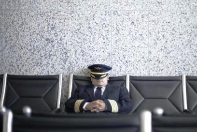 sleepy pilot