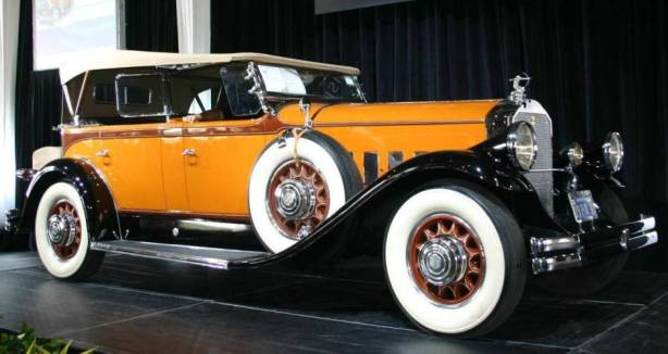 The 1930 Pierce-Arrow Model B Dual Windshield Phaeton - - just one of dozens of such cars from the period that we could have chosen.