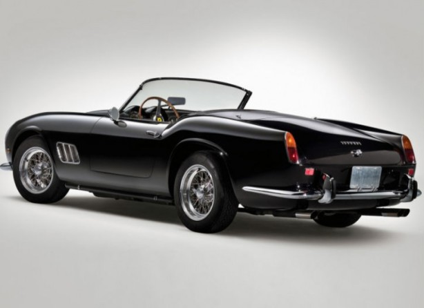 Ferrari have made many beautiful cars - this 1961 250 GT California is one of our favourites, and as an interesting tit-bit, the first Ferarri ever to not have wire wheels.