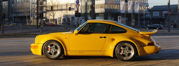 1993 3.3 litre Porsche 911 Turbo S