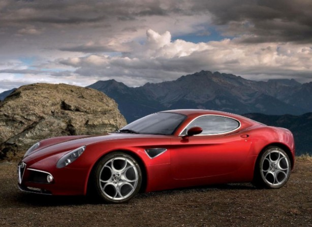 The 2008 Alfa Romeo 8C Competizione. Frankly, it's a sexual thing.