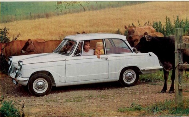 The smallest turning circle of any production car ever. There. you didn't know that, did you?