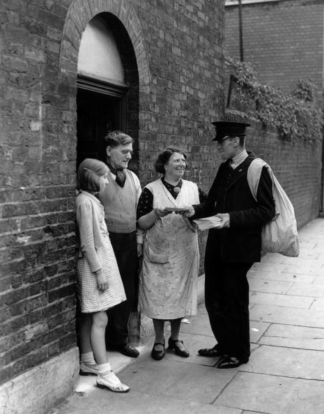 Relief postmen didn't get hats - more's the pity.