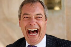 Cheery chappie Farage appeals to anti-immigration and anti-EU sentiment