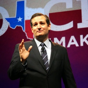 Texan Presidential hopeful Ted Cruz
